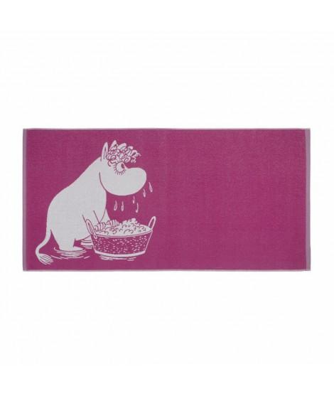 Bath towel Moomin Snorkmaiden pink 70 x 140