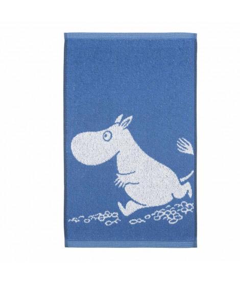 Hand towel Moomintroll blue 30 x 50