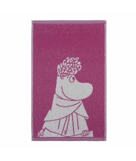 Froté ručník Moomin Snorkmaiden pink 30 x 50