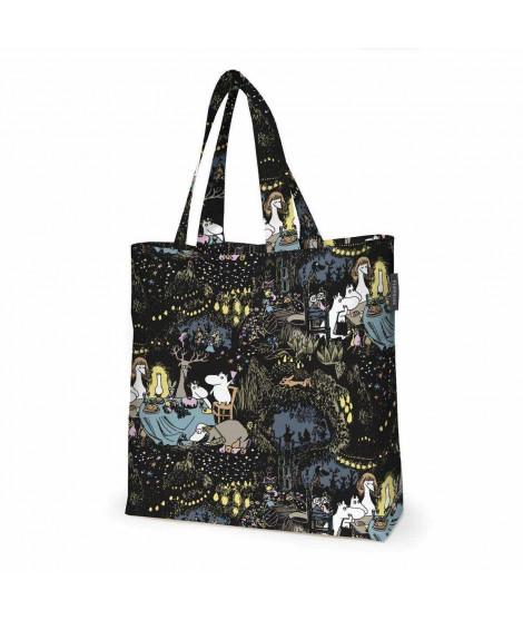 Bavlněná taška Moomin Tahtimuumi black 45x42