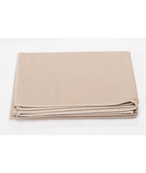 Cotton blanket SYLT cement 140x200