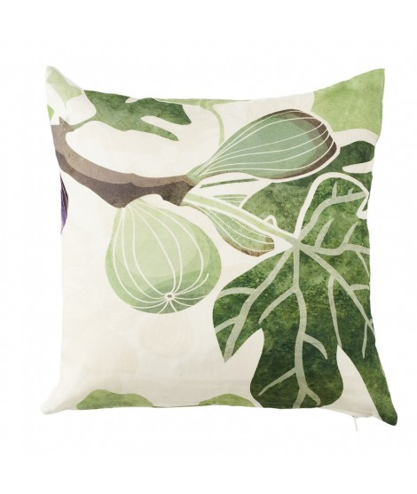 Cushion cover Figs green 45x45