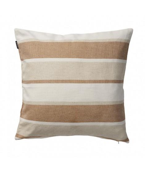 Lněný povlak na polštář June beige 50x50