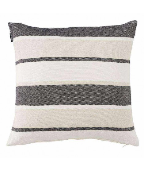 Linen cushion cover June black 50x50