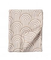 Bavlněná deka Arcade beige 140x180