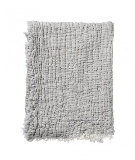 Bavlněná deka DUO grey 130x170