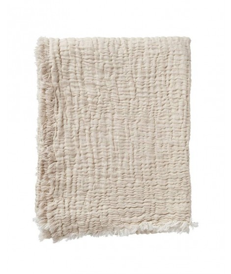 Bavlněná deka DUO beige 130x170