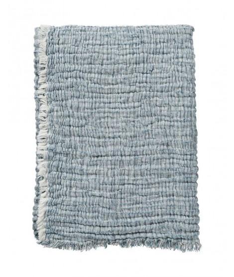 Bavlněná deka DUO blue 130x170