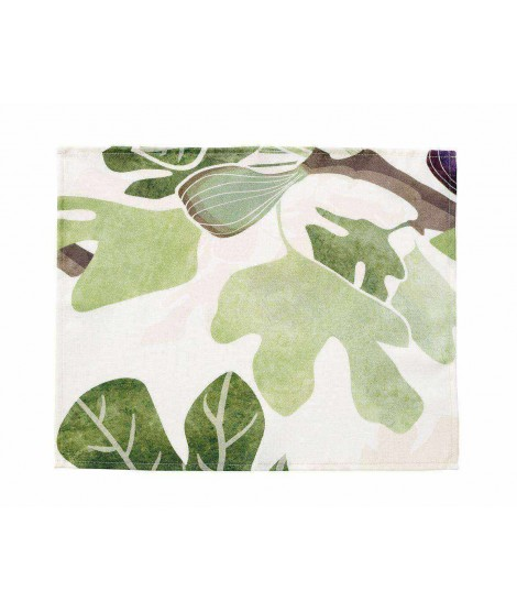 Table mats Figs green 45x35 2-set