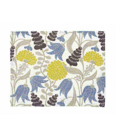 Prostírání Lily yellow blue 2-set 45x35
