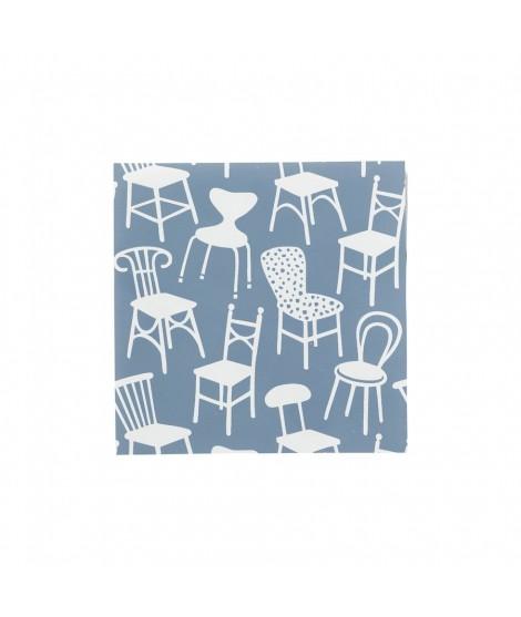 Papírové ubrousky Chairs 33x33 20ks
