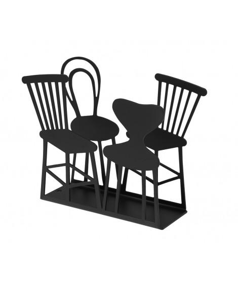 Držák na ubrousky Chairs black 11x14x4