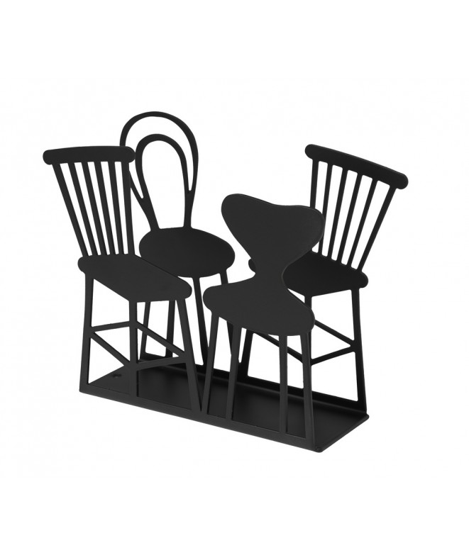 Napkin holders Chairs black 11x14x4