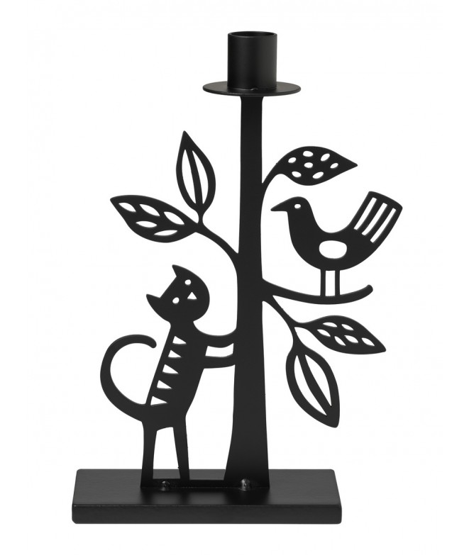 Candle holder The Cat and the tree