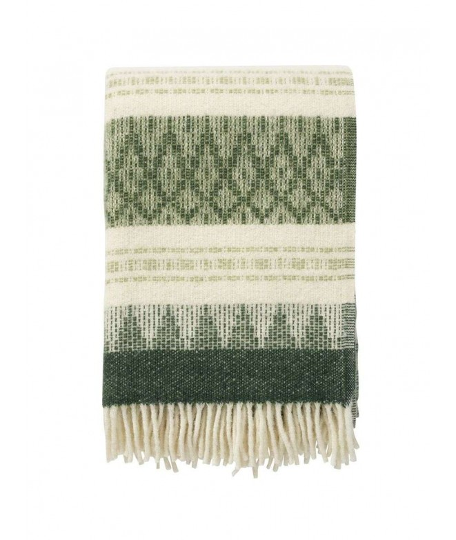Woolen throw Freja wood 130x200