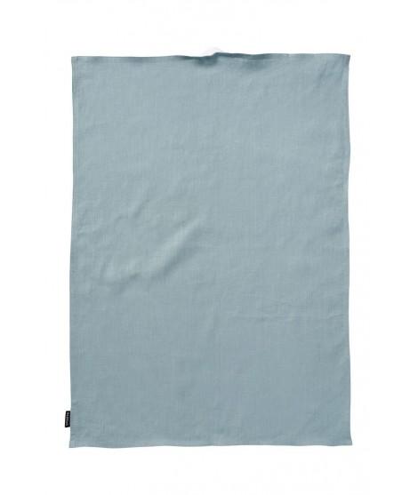 Kitchen towel Linn turquoise 50x70