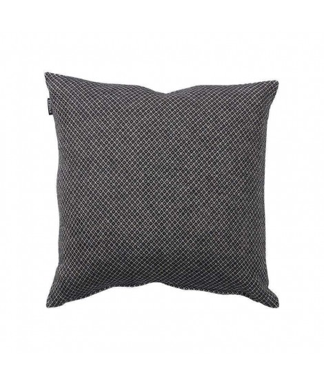 Cotton cushion cover Peak black 45x45