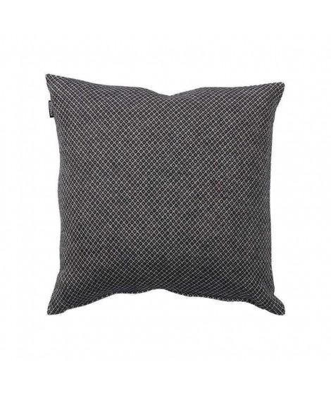 Cotton cushion cover Peak black 45x45