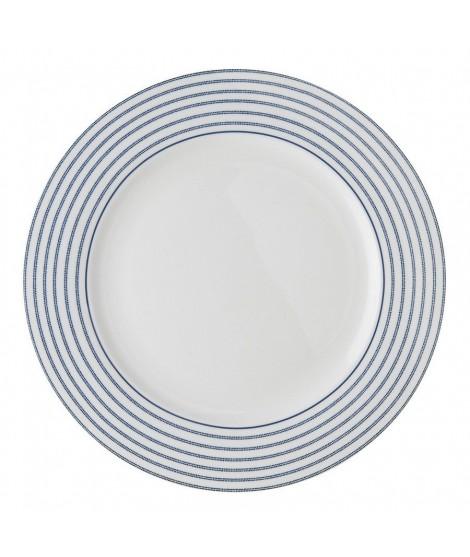 Mělký talíř Candy Stripe blue 26cm