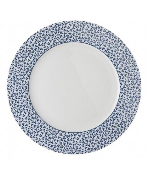 Mělký talíř Floris blue 26cm