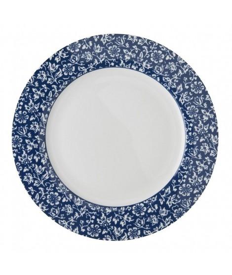 Mělký talíř Sweet Allysum blue 26cm