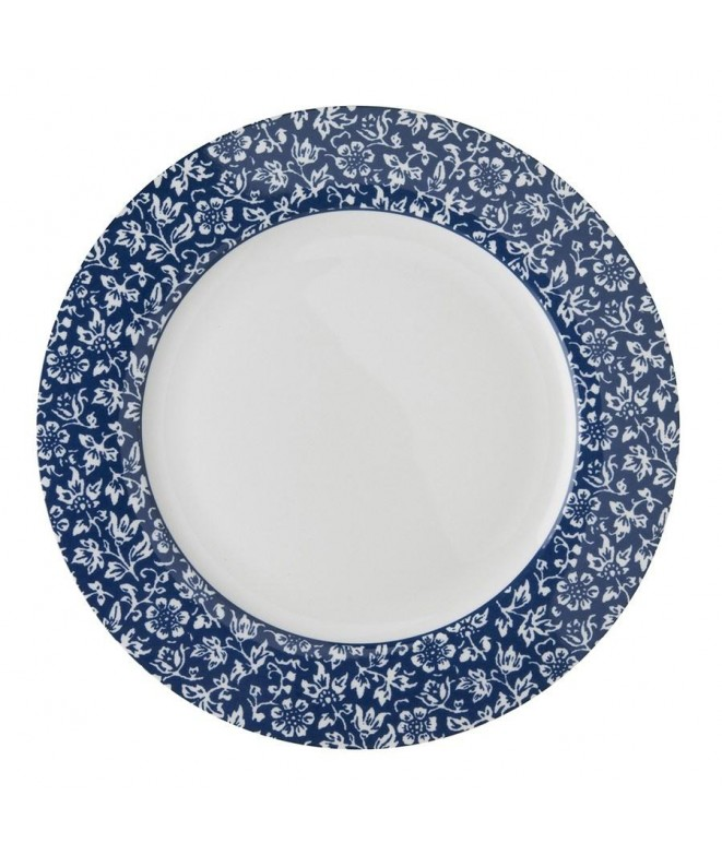 Dinner plate Sweet Allysum blue 26cm