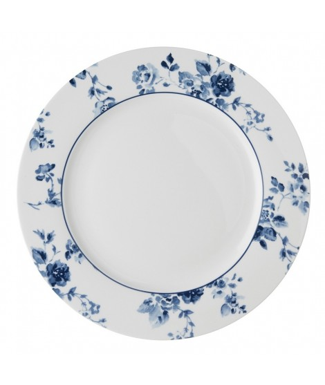 Mělký talíř China Rose blue 26cm