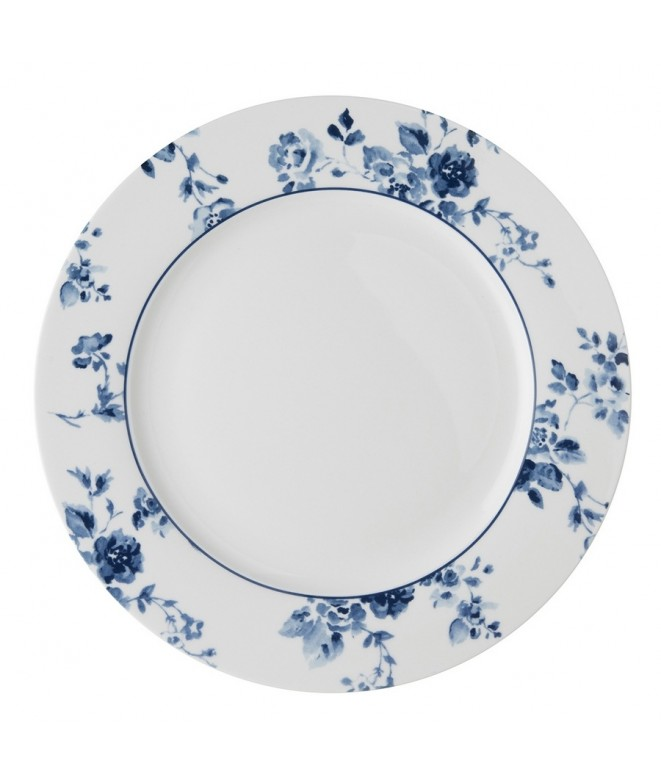 Dinner plate China Rose blue 26cm