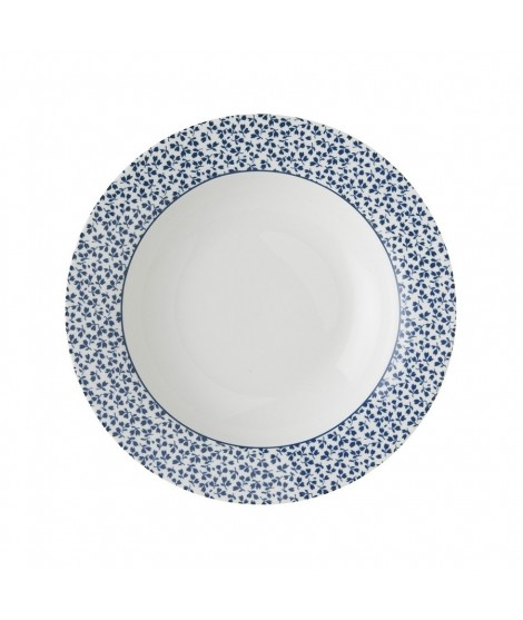 Hluboký talíř Floris blue 22cm