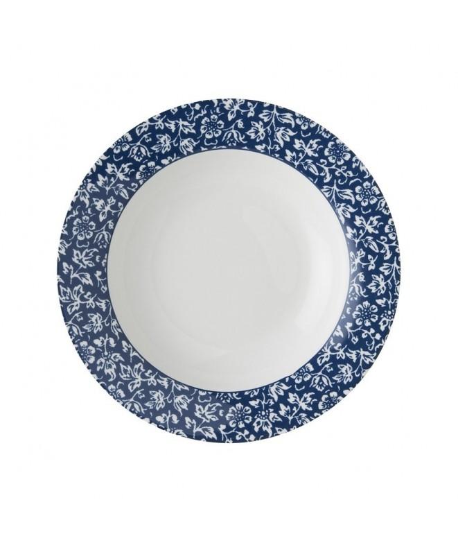 Deep plate Sweet Allysum blue 22cm