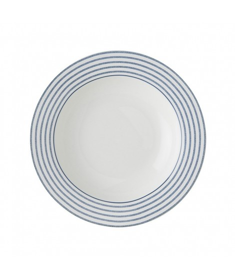 Hluboký talíř Candy Stripe blue 22cm