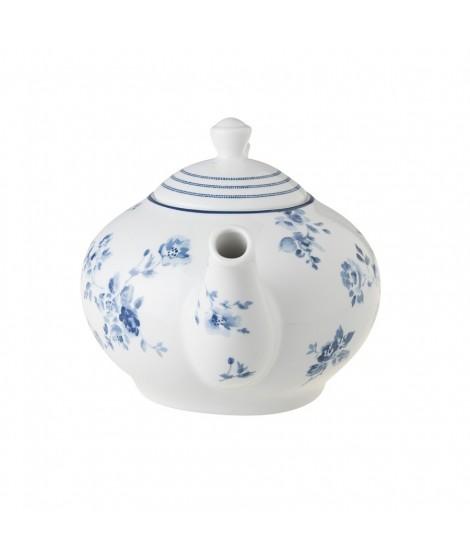 Teapot China Rose blue 1,6L side