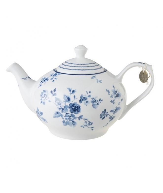 Teapot China Rose blue 1,6L