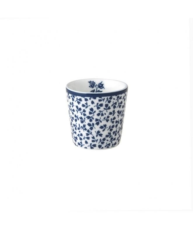 Egg cup Floris blue