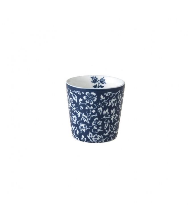 Egg cup Sweet Allysum blue