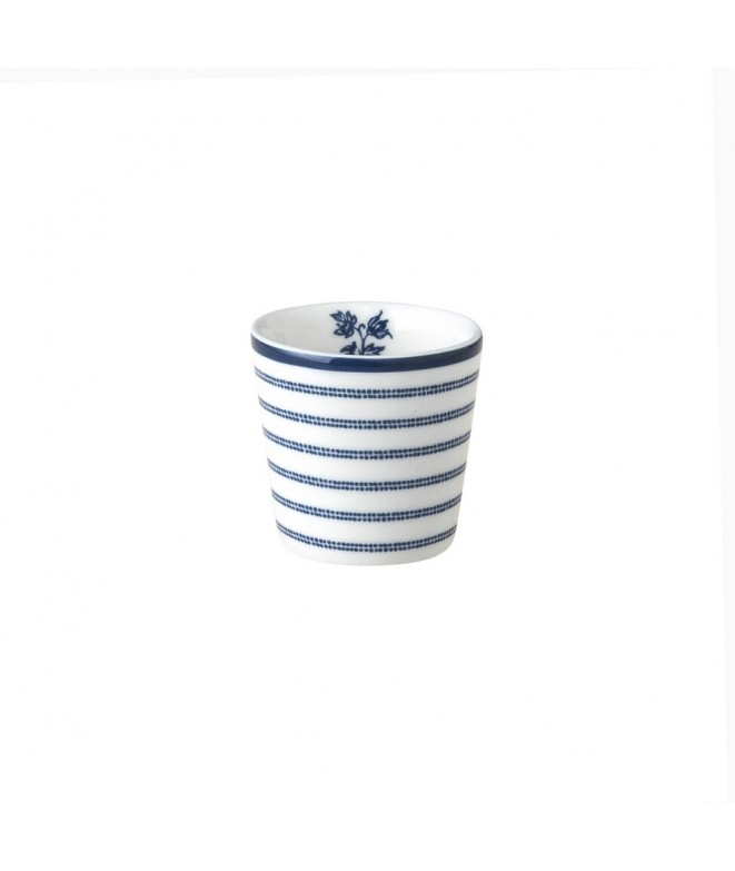 Egg cup Candy Stripe blue