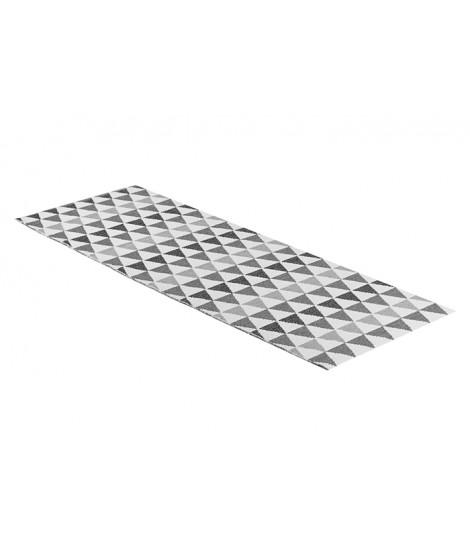 Plastic rug Tribus grey 70x120