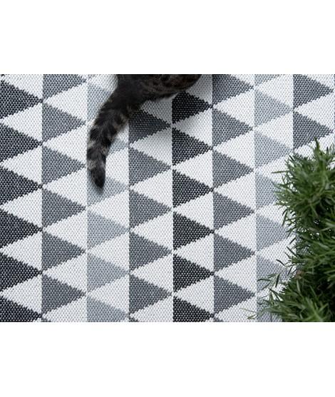 Plastic rug Tribus grey 70x120 detail