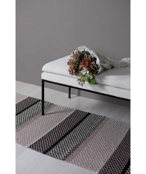 Plastic rug Folke dusty pink 70x150
