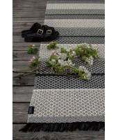 Plastic rug Folke dusty grey 70x150