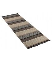 Plastic rug Folke taupe brown 70x150