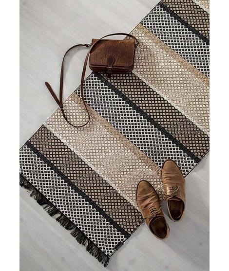 Plastový koberec Folke taupe brown 70x150