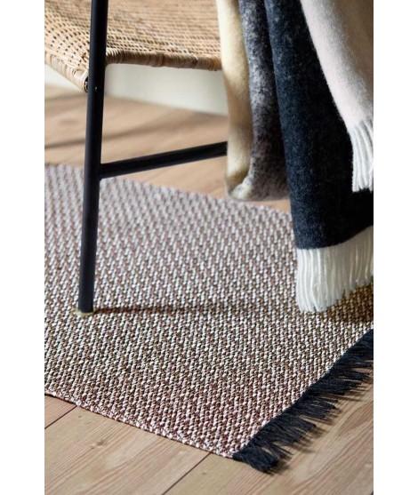 Plastový koberec Gritty taupe 70x150