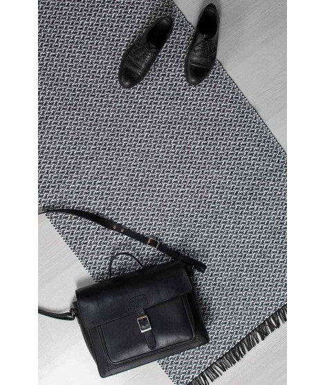 Plastový koberec Gritty grey 70x150