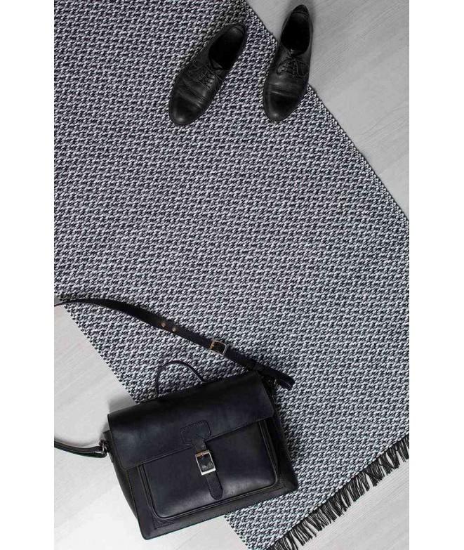 Plastic rug Gritty grey 70x150