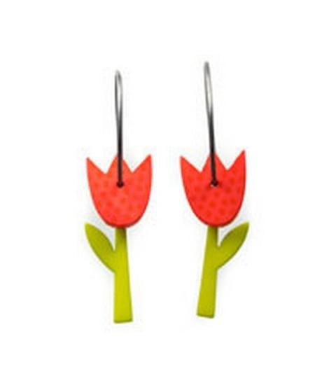 Earrings Tulip 52A