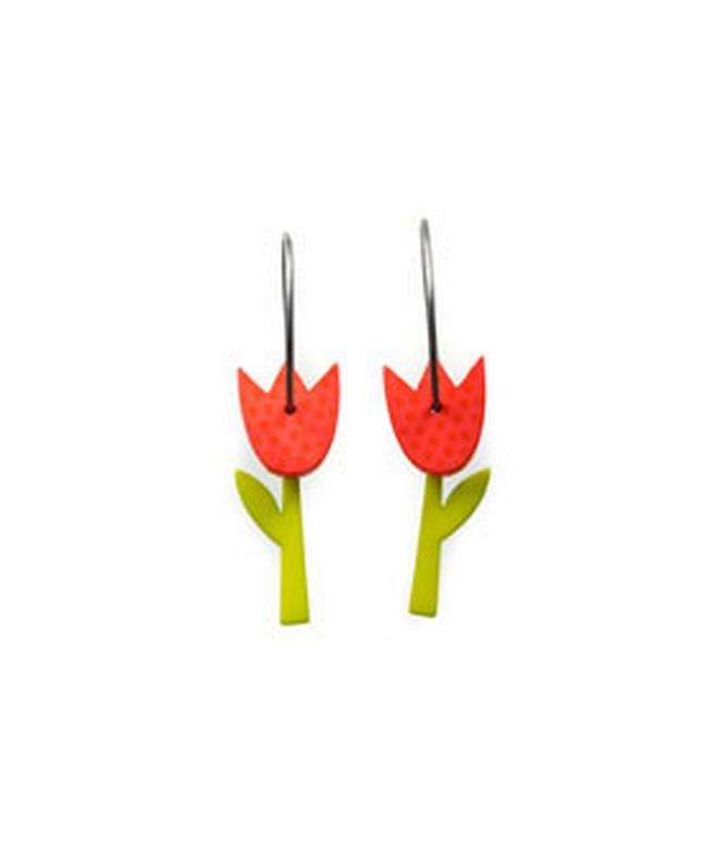 Náušnice Tulip 52A