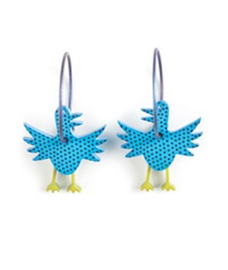Earrings Bird 57B