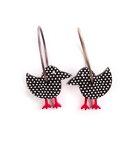 Earrings Bird 8C