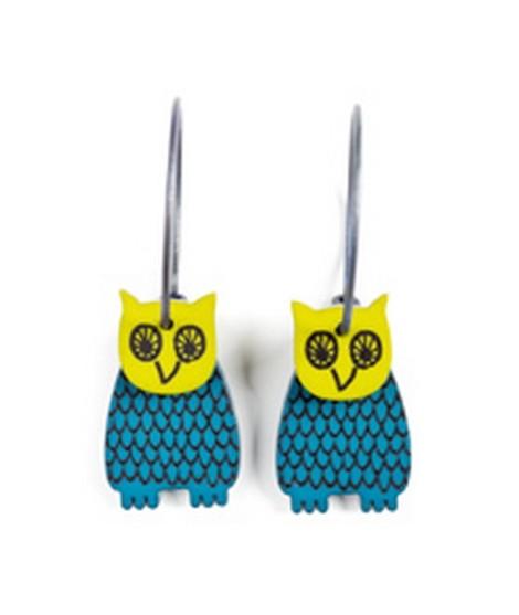 Earrings Owl 42D
